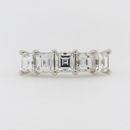 Carre Cut Diamond Ring